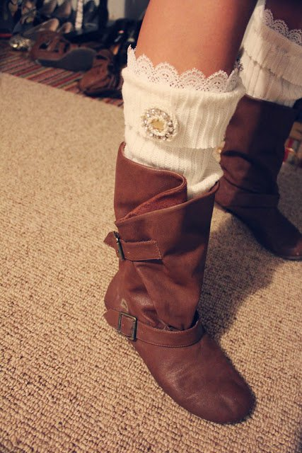 DIY Lovely Leg Warmer Tutorial