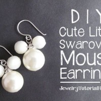 DIY Lovely Mouse Earring