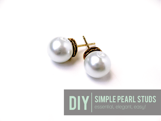DIY Pearl Earring Tutorial