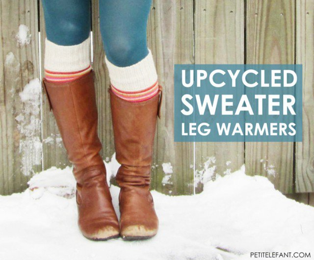 DIY White Leg Warmer Tutorial