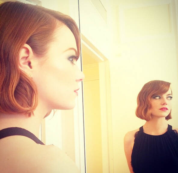 Emma Stone Retro-chic Bob Hairstyle