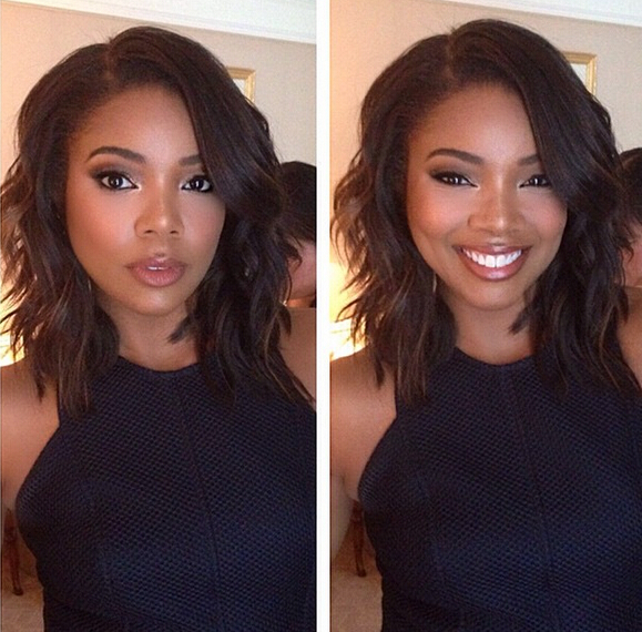 Gabrielle Union Long Bob Hairstyle