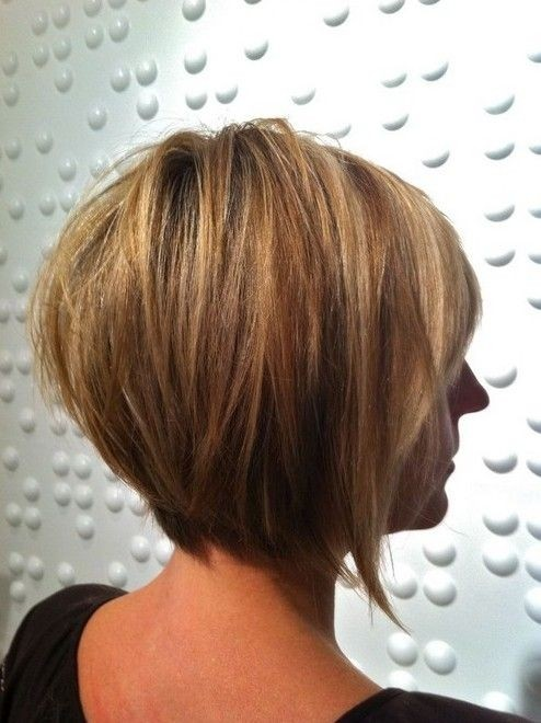 Golden Bob Hairstyle for Women