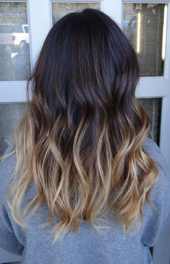 ombre style hair color brunettes with ombre newhairstylesformen2014 1736