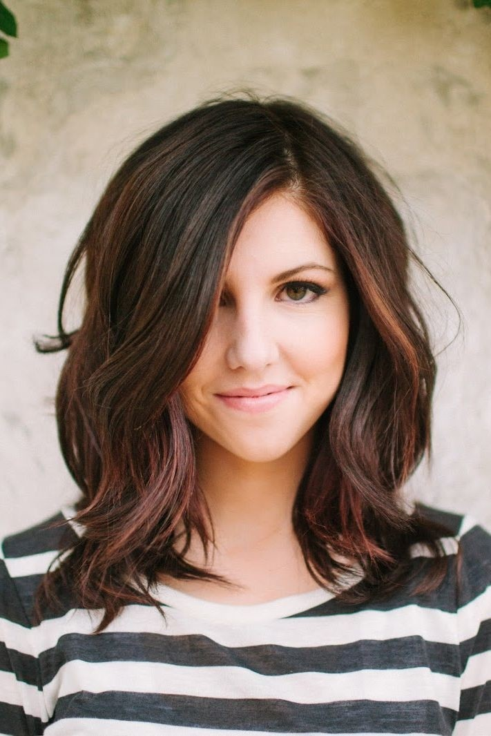Excellent 20 Fashionable Medium Hairstyles For Women In 2015 Styles Weekly Hairstyle Inspiration Daily Dogsangcom
