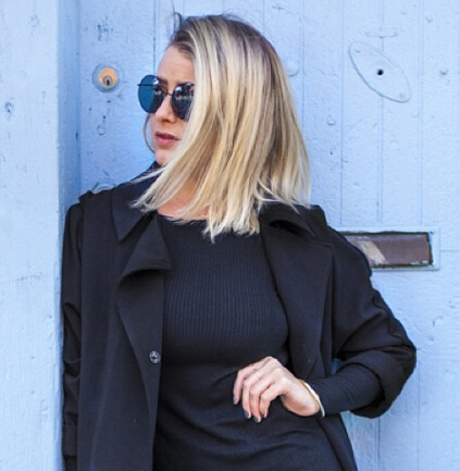 Lo Bosworth Stylish Straight Long Bob