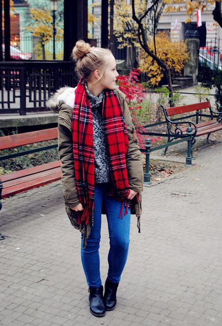 Lovely Tartan Piece for Winter