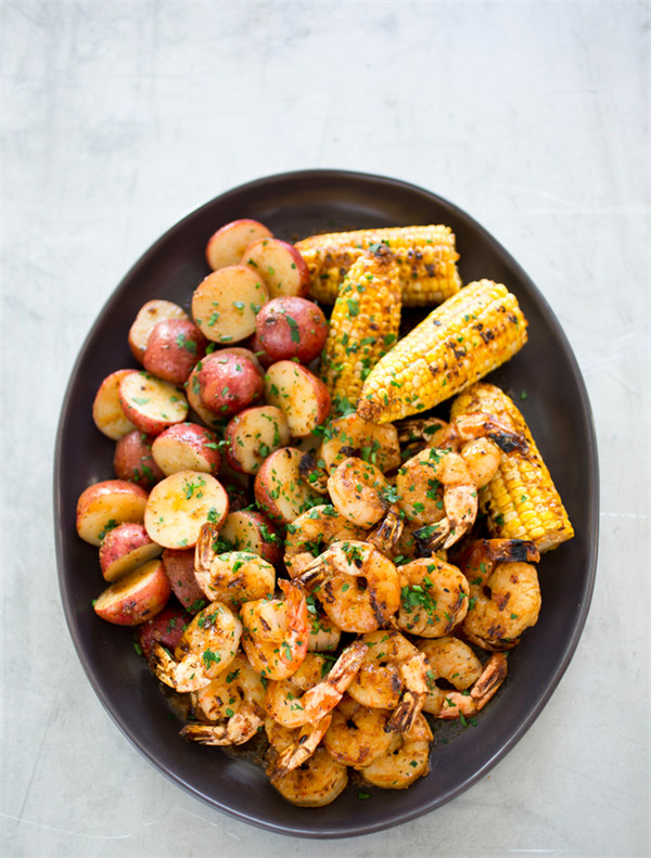 Maryland-Style Grilled Shrimp with Old Bay