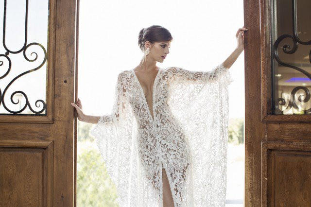 NURIT HEN Chic Wedding Gown