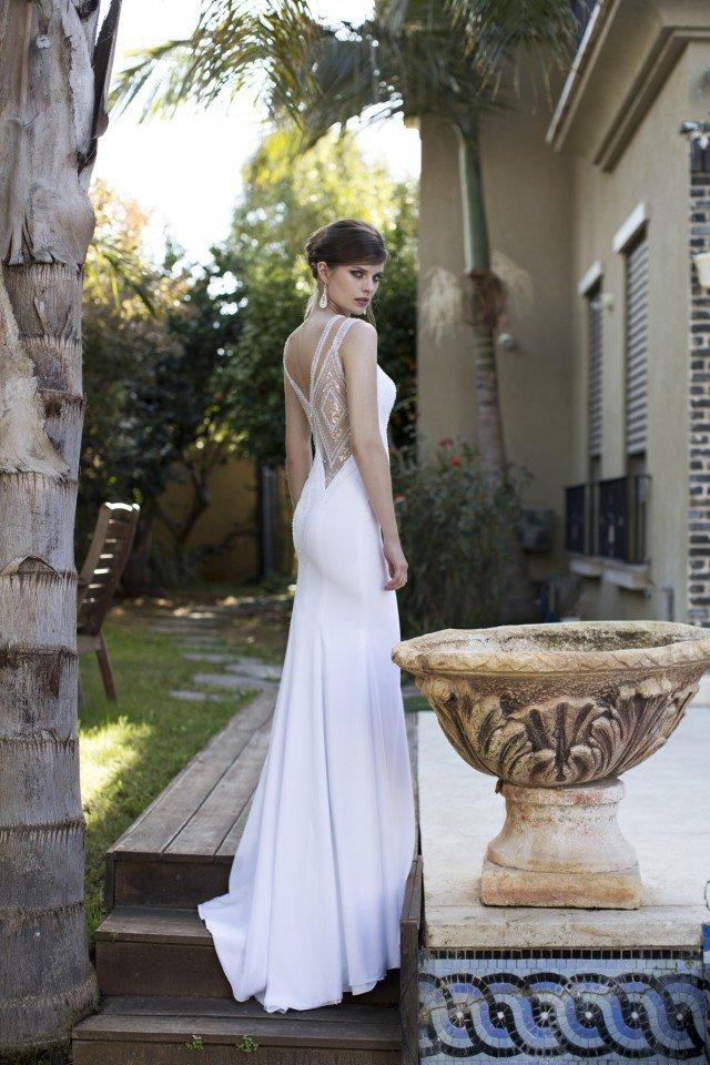 NURIT HEN Graceful Wedding Gown