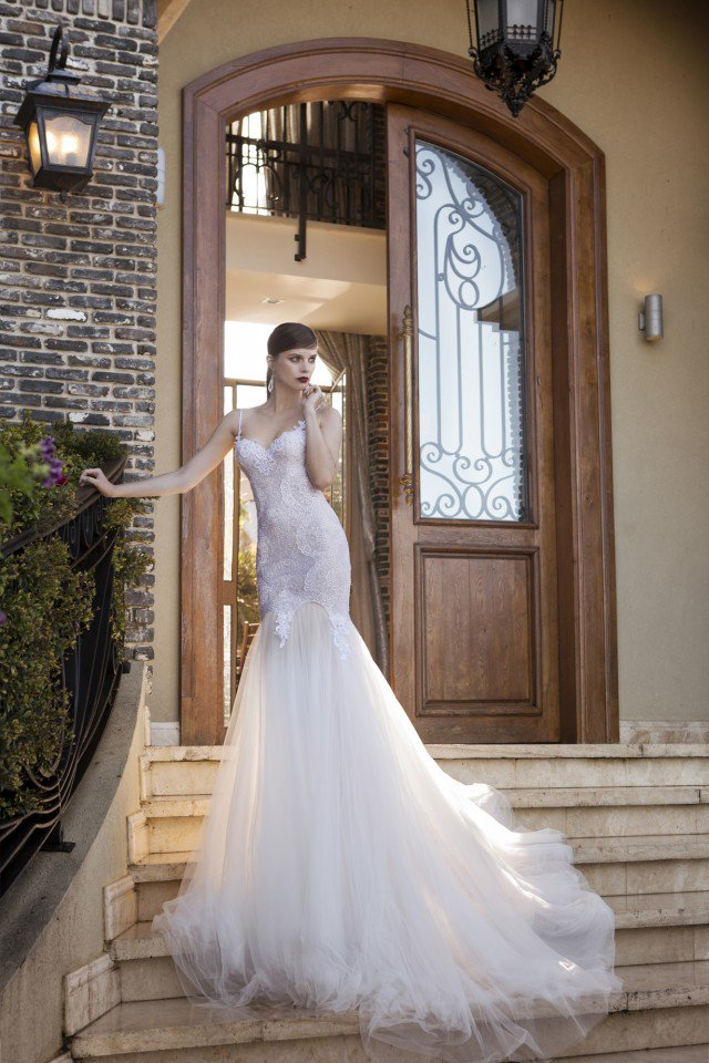 NURIT HEN Pretty Wedding Gown for 2015