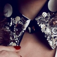 Pretty DIY Embellished Collar