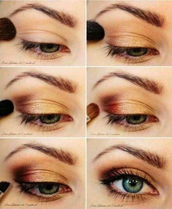 beautiful blue eye makeup | Cosmetics Pictranslator