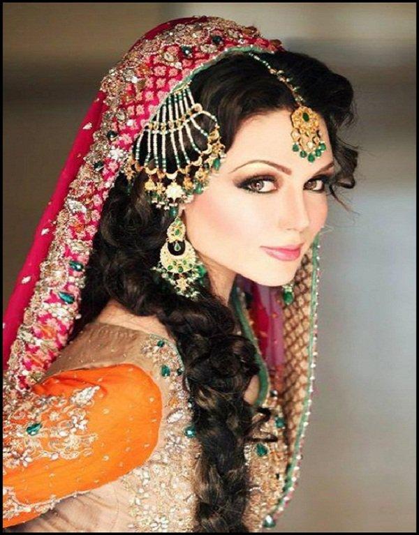 Strange Hairstyle Bridal Makeup Best Hairstyles 2017 Short Hairstyles Gunalazisus