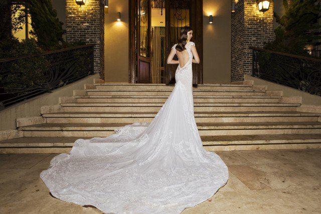 Romantic Wedding Gown by NURIT HEN
