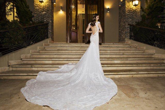 Romantic Wedding Gown by NURIT HEN