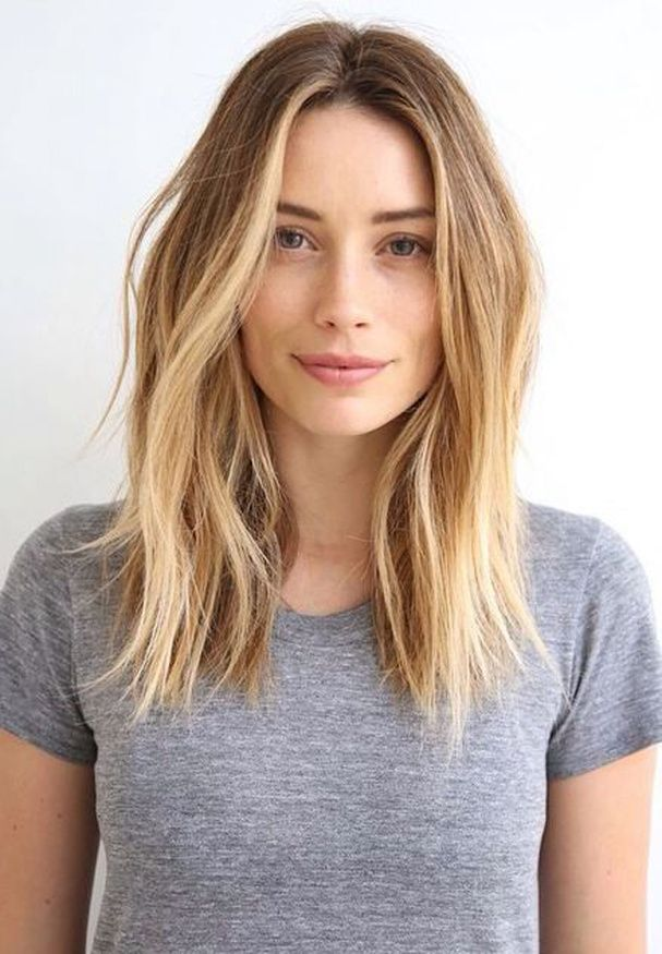 Shoulder Length Hairstyle for Medium to Thin Hair
