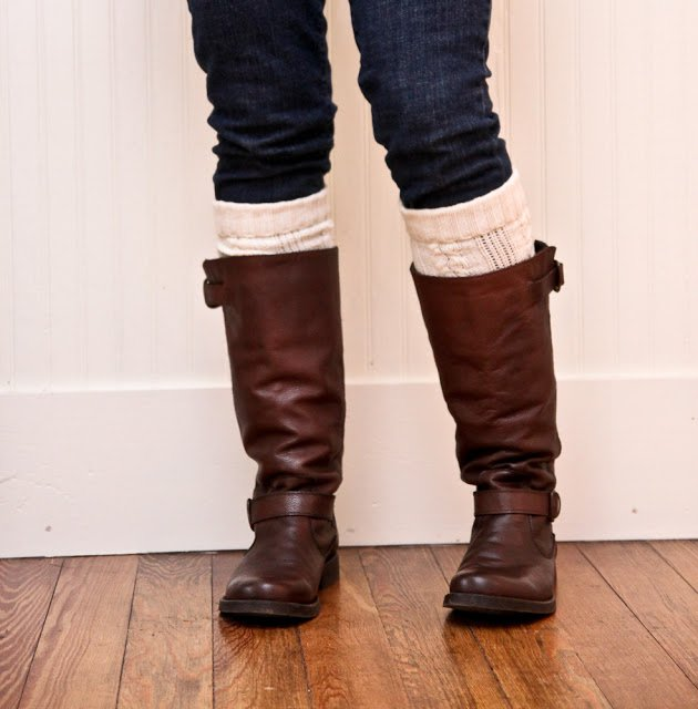 Simple DIY Leg Warmer Tutorial