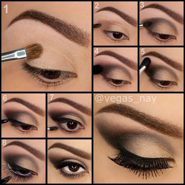 Smoky Cat Eye Makeup Tutorial