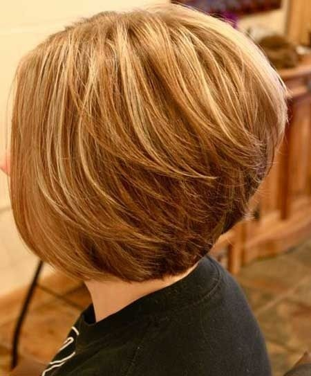 Stylish Stacked Bob Hairstyle