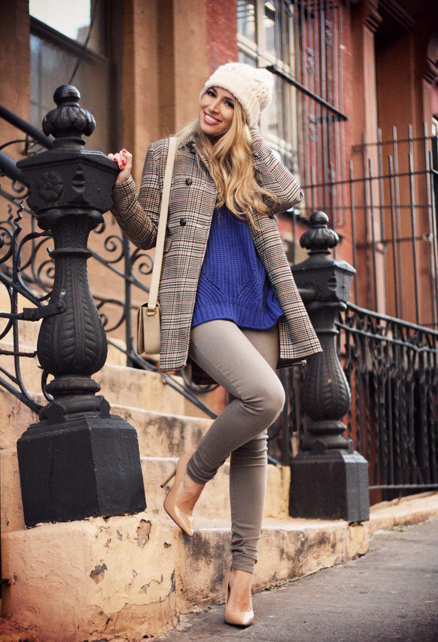 Tartan Blazer Outfit