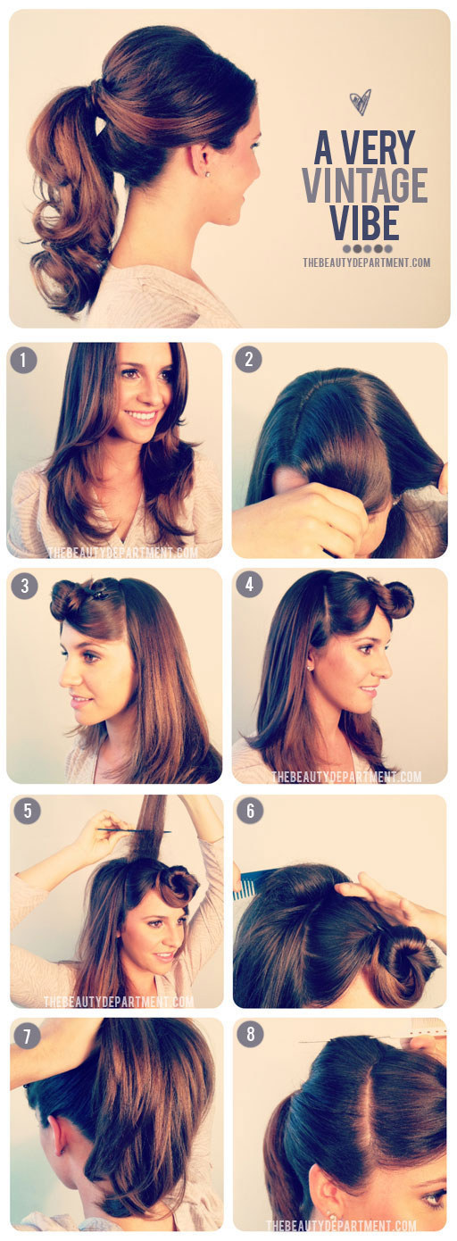 Swell 32 Vintage Hairstyle Tutorials You Should Not Miss Styles Weekly Short Hairstyles Gunalazisus