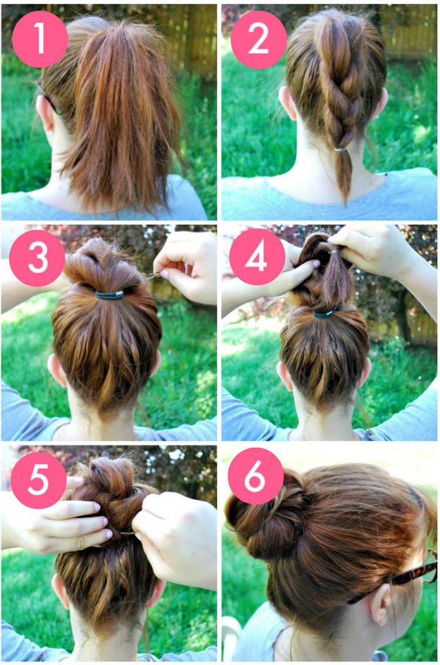 Groovy 32 Chic 5 Minute Hairstyles Tutorials You May Love Styles Weekly Hairstyles For Women Draintrainus