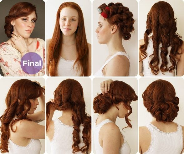 Good Vintage Hairstyle For Long Hair: A 1930s Bride Updo