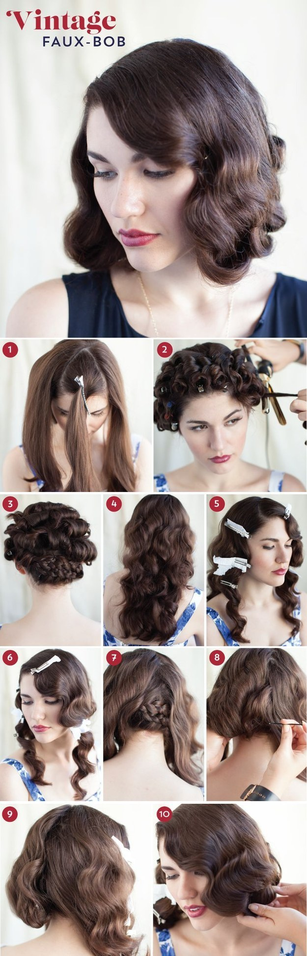 Miraculous 32 Vintage Hairstyle Tutorials You Should Not Miss Styles Weekly Hairstyle Inspiration Daily Dogsangcom