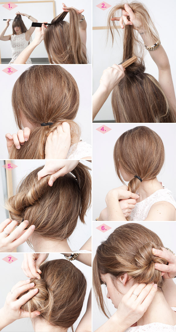 Www Hair Styles Com 32 Chic 5Minute Hairstyles Tutorials You May Love  Styles Weekly