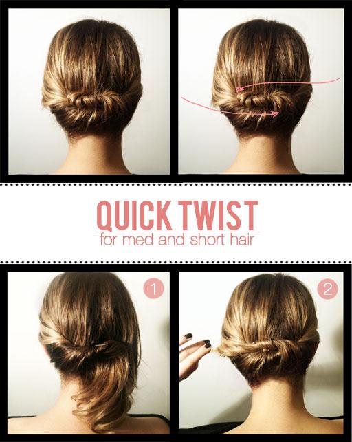 Miraculous 32 Chic 5 Minute Hairstyles Tutorials You May Love Styles Weekly Short Hairstyles Gunalazisus
