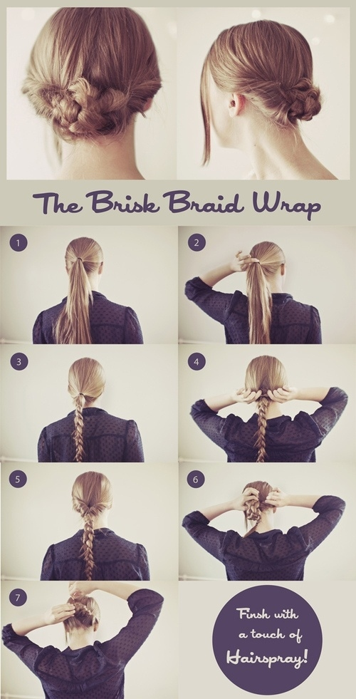 The Brisk Braid Wrap