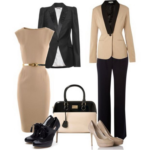 Office outfit - basic colors