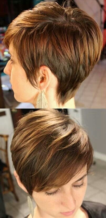 Cute Everyday Hairstyles for Straight Hair: Short Pixie Haircut