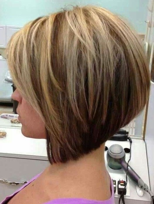 Groovy A Line Bob Haircut For 2015 Styles Weekly Hairstyles For Women Draintrainus