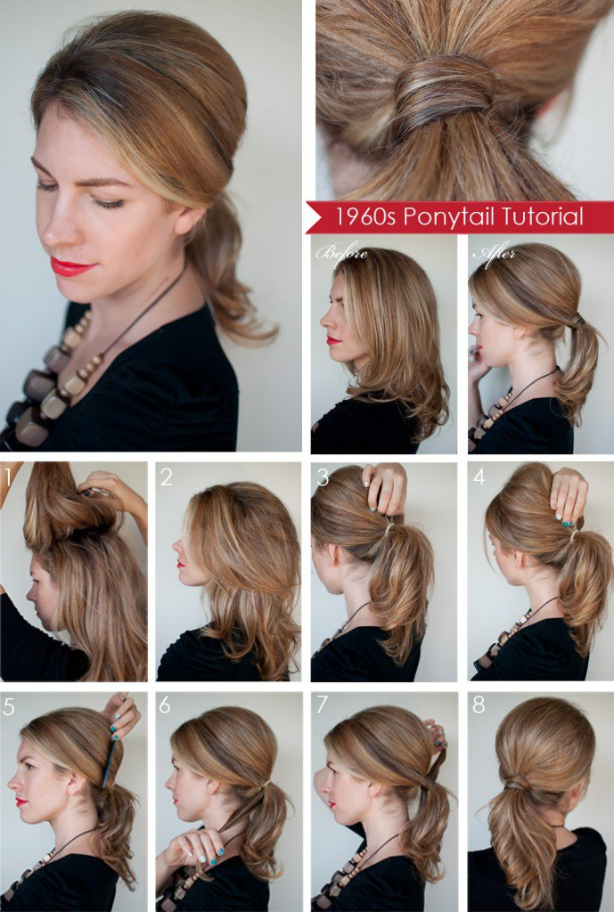 12 Beautiful & Fashionable Step by Step Hairstyle ...