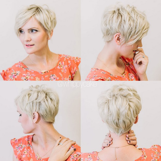 Simple Hairstyles for Short Hair: Short Layered Haircut for Women Over ...