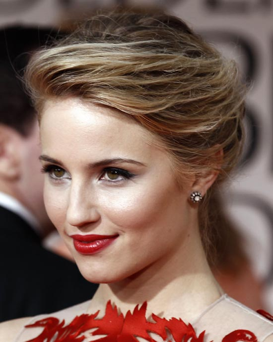 2015 Celebrity Makeup & Hairstyle Ideas for Red Dresses | Styles Weekly