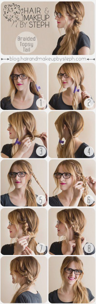Stupendous 12 Beautiful Amp Fashionable Step By Step Hairstyle Tutorials Short Hairstyles Gunalazisus