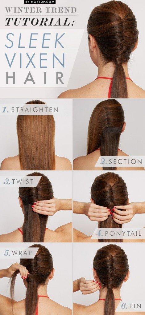 Phenomenal 12 Beautiful Amp Fashionable Step By Step Hairstyle Tutorials Short Hairstyles Gunalazisus