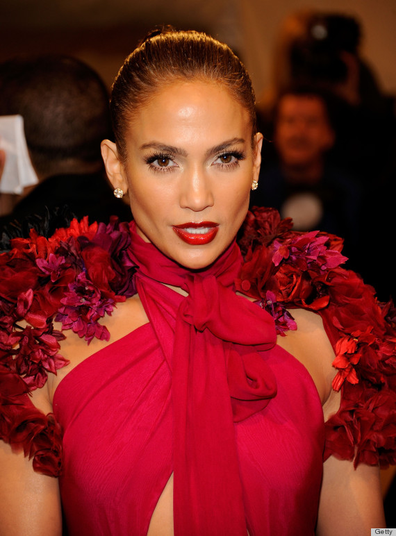 "Jennifer Lopez at the ""Alexander McQueen: Savage Beauty"" Costume Institute Gala At The Metropolitan Museum Of Art"