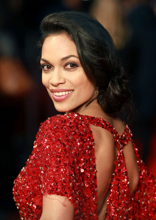 rosario-dawson-side-bun-hairstyle