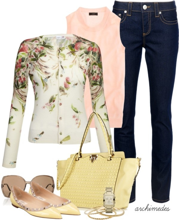 15 Trendy Spring Polyvore Outfit Combinations