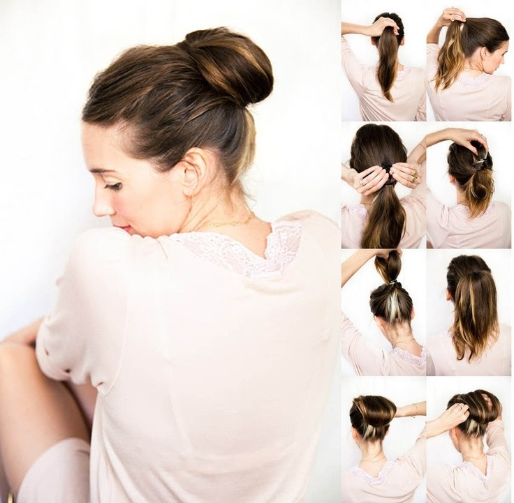 Terrific 10 Simple Yet Stylish Updo Hairstyle Tutorials For All Occasions Hairstyles For Women Draintrainus