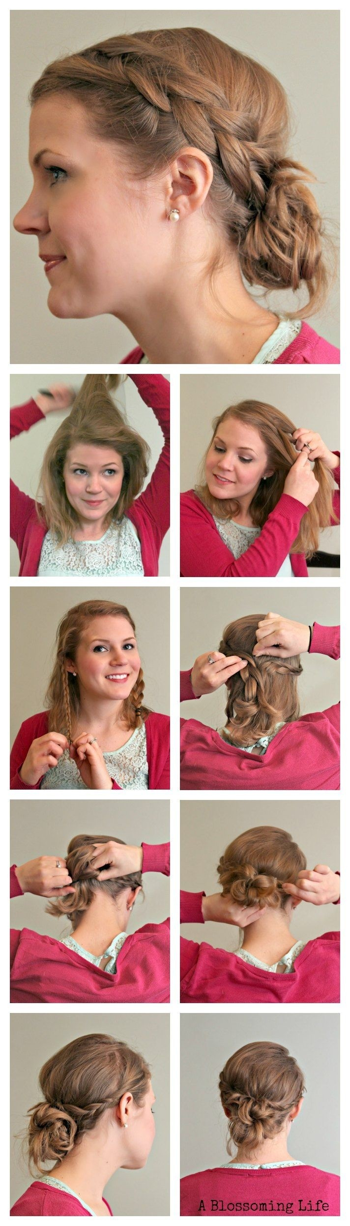 Magnificent 10 Simple Yet Stylish Updo Hairstyle Tutorials For All Occasions Short Hairstyles Gunalazisus