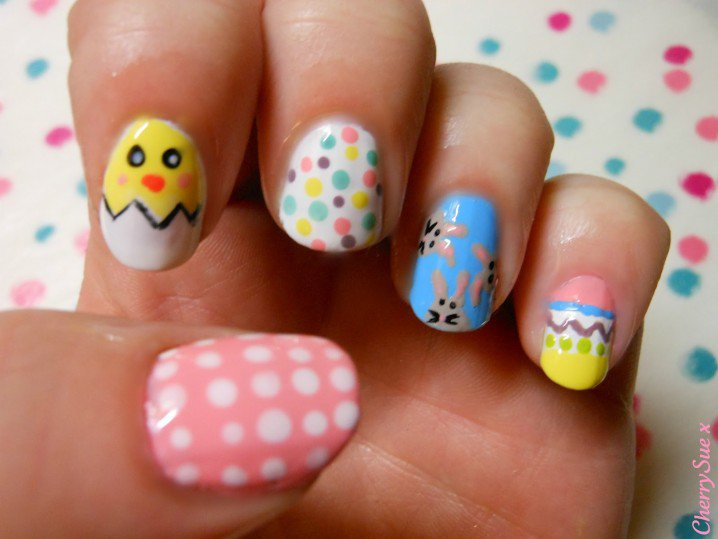 Adorable Nail Design for 2015 - 16 Cute Nail Designs For Spring And Summer Styles Weekly