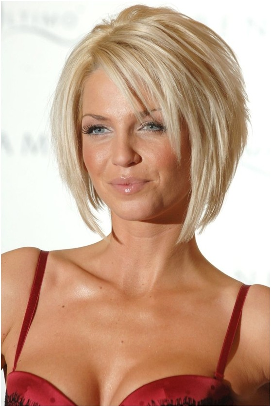Blonde Layered Bob Hairdos: Short Haircuts 2015