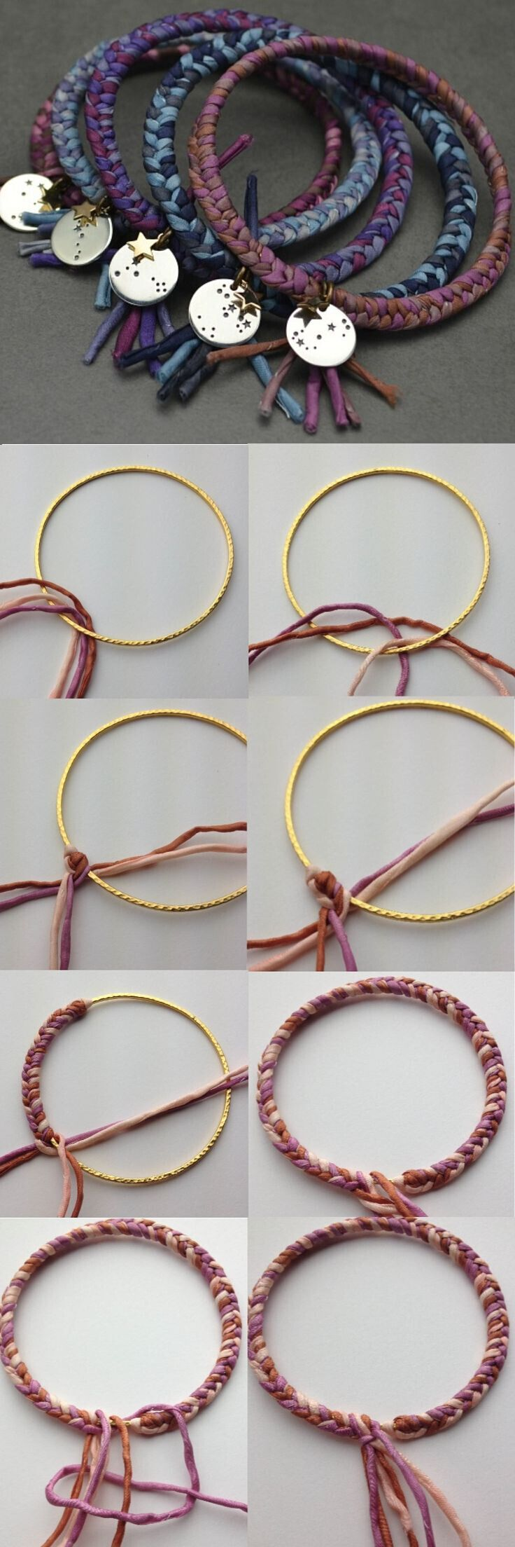Braided Bangles Tutorial
