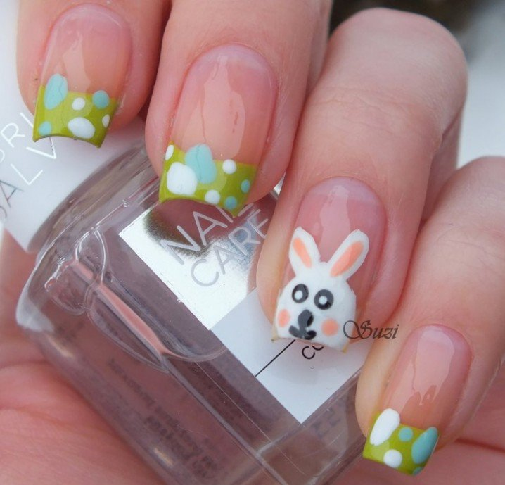 Cute French Manicure