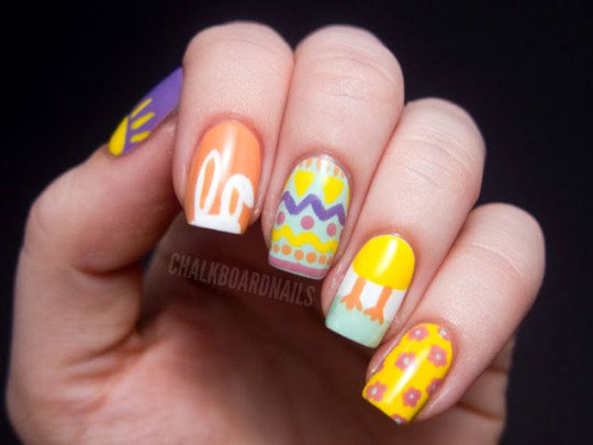 Fashionable Nail Design for Girls